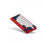 Leopold FC650MDS White Blue Star
